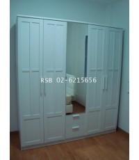 ตู้เสื้อผ้า NIRVANA/A ของ WINNER 5 บานประตู ขนาด 190 cm