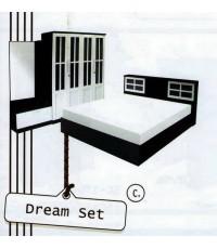 ชุดห้องนอน DREAM SET ตู้ขนาด 160 cm ราคาพิเศษ