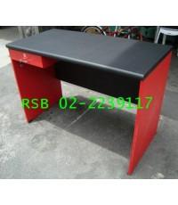 โต๊ะทำงาน โต๊ะสำนักงาน 120 cm แบบ 1 ลิ้นชักข้างเล็ก