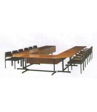 โต๊ะประชุม ไม้ธรรมชาติ มาตรฐาน 12 ที่นั่ง ราคาส่ง