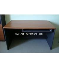 โต๊ะคอมพิวเตอร์ โต๊ะทำงาน ขนาดพิเศษ ลึก 90 cm ขอบมน 36 mm