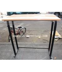 โต๊ะทำงานแบบยืน ขาเหล็ก W90XD40XH100CM รหัส 785