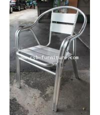 เก้าอี้อลูมิเนียม รุ่น 879 เหล็กหนาซ้อน 2 เส้น