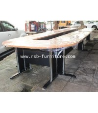 โต๊ะประชุม ตัวต่อ กว้าง 540 cm จำนวน 15-18 ที่นั่ง