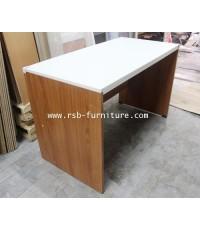 โต๊ะทำงาน โต๊ะสำนักงาน แบบโล่งขนาด 120 cm
