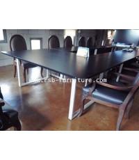 โต๊ะประชุมตัวต่อ รูปตัว U จำนวน 11 ที่นั่ง ขนาด 390 cm