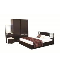 ชุดห้องนอนเพสโต้ ตู้เสื้อผ้าบานสไลด์ 160 cm
