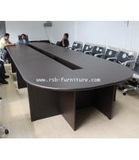 โต๊ะประชุมตัวต่อ ขนาด 600 cm จำนวน 16-24 ที่นั่ง ไม้ MDF หนา 36 mm