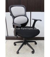 เก้าอี้สำนักงาน เก้าอี้ทำงาน พนักพิงดีไซน์ รุ่น 1028