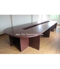 โต๊ะประชุม ตัวต่อ 14-18 ที่นั่ง 600 * 180 cm
