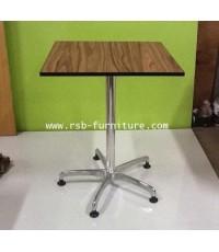 โต๊ะอเนกประสงค์ ขาเหล็กหนา 5 แฉก งานดีไซน์ รุ่น 1290