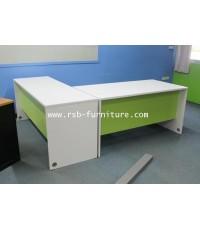 โต๊ะทำงานเข้ามุม โต๊ะทำงาน 180*120 cm