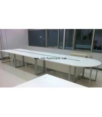 โต๊ะประชุมตัวต่อ จำนวน 13-16 ที่นั่ง ขนาด 665 cm