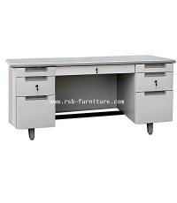 โต๊ะทำงานเหล็ก MT-3060 หน้าโต๊ะลามิเนต 5 ฟุต ยี่ห้อSURE รหัส 1519
