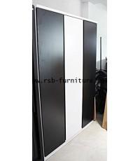 ตู้เสื้อผ้าบานเปิด 135 cm รหัส 1541