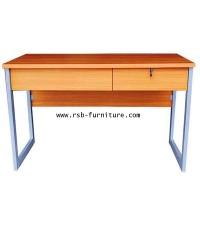 โต๊ะทำงาน 120 cm งานดีไซน์ 2 ลิ้นชัก
