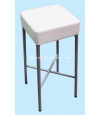 เก้าอี้บาร์สี่เหลี่ยมขาเหล็ก รหัส 1798