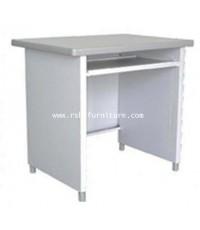 โต๊ะคอมพิวเตอร์เหล็ก Luckyworld หน้าโต๊ะ Laminate 80 CM รหัส 1062 ราคาพิเศษ