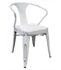 เก้าอี้เหล็ก TOLIX มีท้าวแขน แนววินเทจ รุ่น ATTIC รหัส 1894