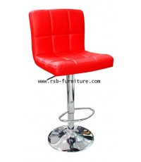 เก้าอี้บาร์เบาะพนักพิงหนัง รหัส 1937