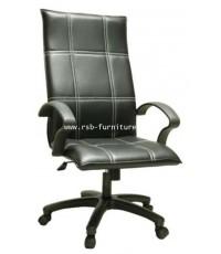 เก้าอี้สำนักงาน พนักพิงหนัง รหัส 1983