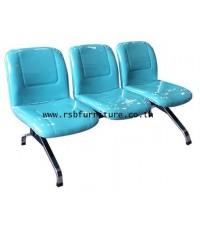 เก้าอี้แถวสำนักงาน ขาเหล็กโครเมี่ยม 3-4 ที่นั่ง รหัส 2165