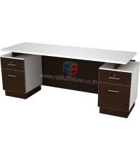 โต๊ะสำนักงาน 180 cm 2 ลิ้นชักซ้าย ขวา รหัส 2271