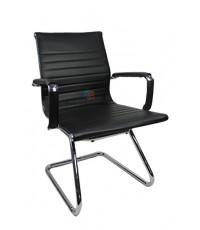 เก้าอี้สำนักงานโครงเหล็กหุ้มหนังSLIM ขาตัวC รหัส 2439