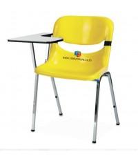 เก้าอี้เลคเชอร์ โพลีเกรดเอ พนักพิงโยกเอนได้เล็กน้อย รหัส 2445 รุ่นขายดี