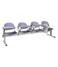เก้าอี้เลคเชอร์แถว 2-4 ที่นั่ง รหัส 2481