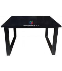 โต๊ะทำงาน W120XD60CM ขาเหล็กตัวCแบบหนา TOP ลามิเนต GLOSS รหัส 2483