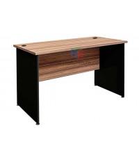 โต๊ะทำงานโล่งมีที่บังหน้า W120XD60XH75 CM เมลามีนสีพิเศษสี B-WALNUT รหัส 1890