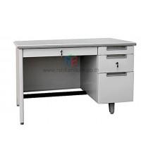 โต๊ะทำงานเหล็ก MT-2642 หน้าโต๊ะลามิเนต 3.5 ฟุต รหัส 1517
