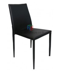 เก้าอี้ทานอาหารเบาะหนัง STYLE MODERN รุ่น DOMINO รหัส 2713