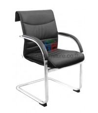 เก้าอี้สำนักงาน ที่ท้าวแขนเหล็ก ขาตัว C รับน้ำหนัก 150 KG รหัส 2772