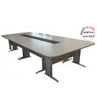 โต๊ะประชุม ขาเหลกปั๊มเงา รหัส 2903