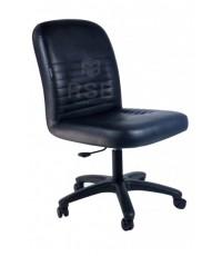 เก้าอี้สำนักงาน ไม่มีที่ท้าวแขน ขาไฟเบอร์  เปลี่ยนสีหนังได้ รหัส 3005