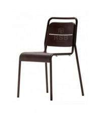 เก้าอี้เหล็ก สีน้ำตาล New Storm รุ่น SK14F1A รับประกัน 1 ปี ใช้กลางแจ้งได้ รหัส 3107