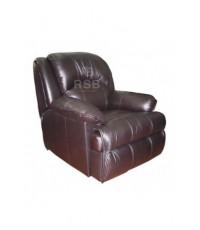 เก้าอี้โซฟา SURE  จำนวน 1 ที่นั่ง เบาะหนังสามารถปรับเอนนอนได้ รหัส 3128