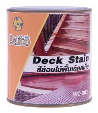 WC-003 สีย้อมไม้พื้นเด็คสเต็น ไดโตะ  (ระบบน้ำมัน)
