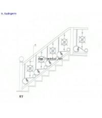 BEST SELLER DIY ราวบันไดสแตนเลส 2 (Stainless Steel Railing/Handrail No.2)