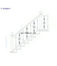 Recommend DIY ลายราวบันไดสแตนเลส 1 (Stainless Steel Handrail/Railing No.1)
