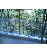 ราวกันตกอิตาลี (Wrought Iron Steel Handrail/Banister)