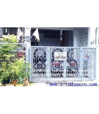 ซ่อมสีประตูอัลลอย เหล็ก (Gate Recolouring)