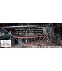 โครงเหล็กแขวนตะเกียงน้ำมัน  LD-F490  (Metal Steel Structure For Lamp