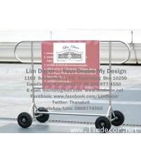 แผงกั้นรถสแตนเลส Stailless Steel Fencing @ Grand Hyatt Erawan Hotel