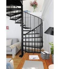 15 แบบบันไดวนแฟชั่นปั๊มแรงบันดาลใจ  15 Inspiration of Fashion Spiral Staircase o Railing