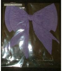 ริบบิ้นโบว์กระดาษสา Saa Paper Ribbon Purple Bow