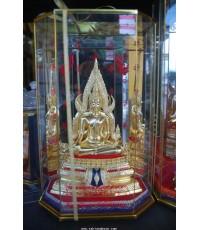 พระพุทธชินราช 5 นิ้ว ปิดทอง เข่าขวาชนเข่าซ้าย