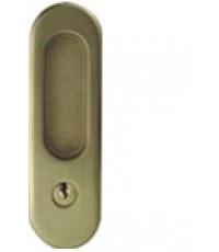 มือจับฝังHAFELE ,มือจับประตูบานเลื่อนไม้ สีทองเหลืองรมควัน